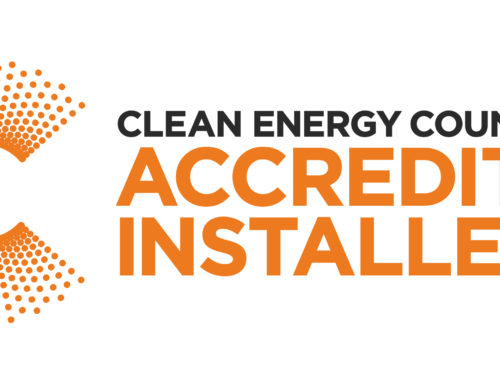 We are Clean Energy Council accredited
