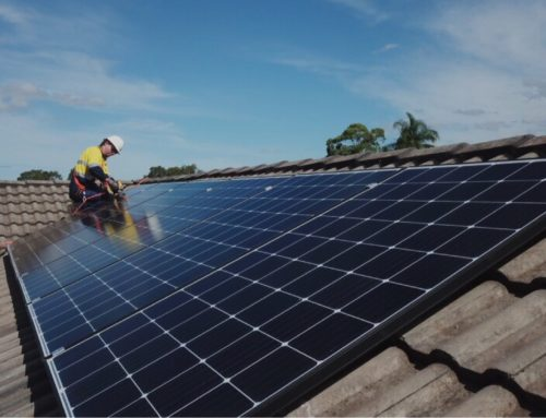 Solar panel installation show no signs of slowing!